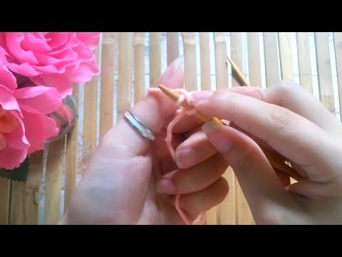 [Hướng dẫn đan len cơ bản] - Cách gầy mũi