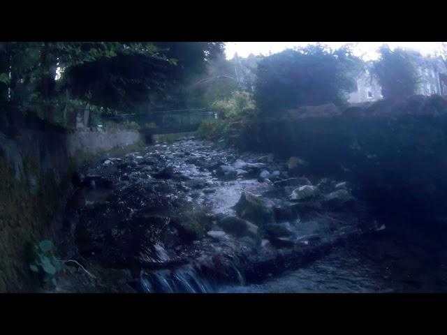 Wilton Lodge Park Dean Burn Waterfall Hawick - Underwater Camera 4K Quality - Clip 6