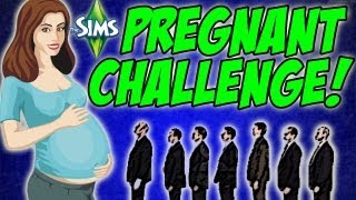 The Sims 3 - Evil Children! #8 Pregnant Challenge