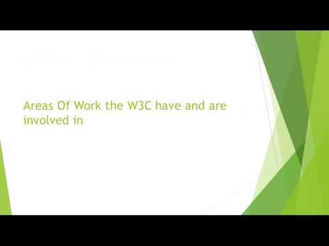 PPT01WORLD WIDE WEB CONSOTRIUM W3C