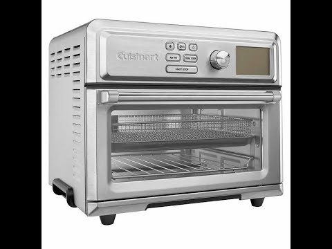 cuisinart-digital-airfryer-toaster-oven---unboxing-extended-version