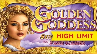 Golden Goddess Slot - ALMOST JACKPOT LONGPLAY - All Bonuses!