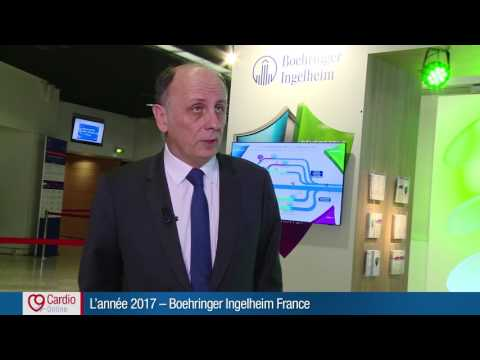 Boehringer Ingelheim France - Être présent dans le parcours de soins du patient de l'AVC en 2017