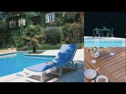 Grosfillex Commercial Resin Furniture for Pools, Patios, Restaurants, and Cafes - Overview