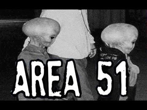 EXTRATERRESTRES en el AREA 51, imagenes filtradas por un