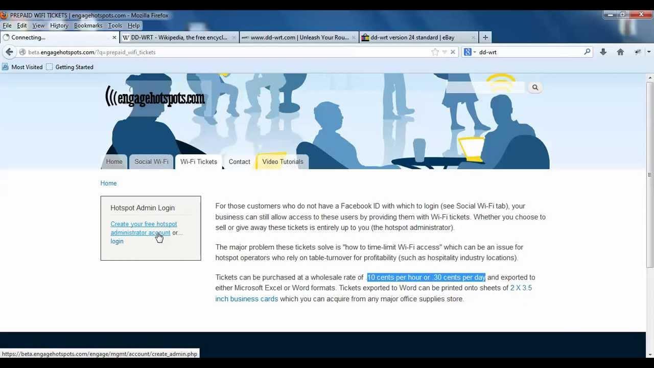 Hotspot System Tutorial - engagehotspots com