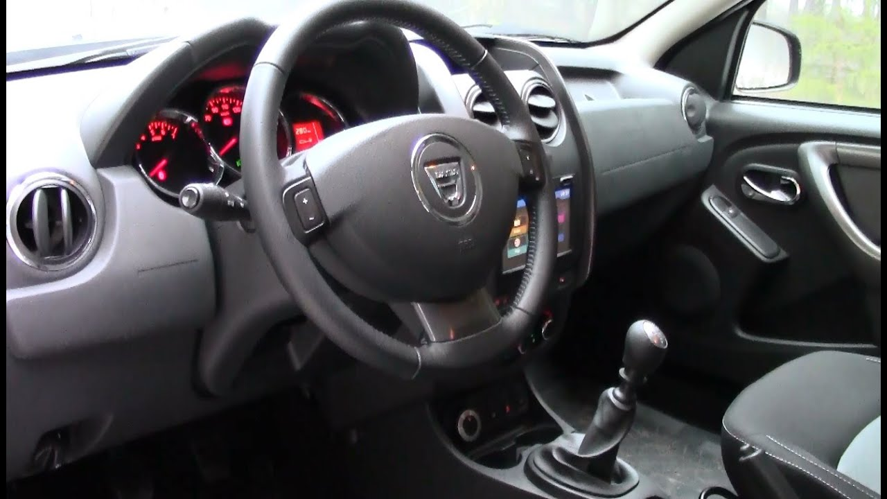 2016 dacia duster interior medianav evolution youtube. Black Bedroom Furniture Sets. Home Design Ideas