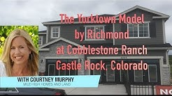 New Homes in Castle Rock Colorado - The Yorktown Model by Richmond at Cobblestone Ranch