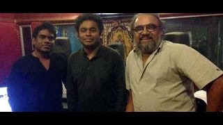 Yuvan and Dhanush about mariyaan songs by AR Rahman | Interview