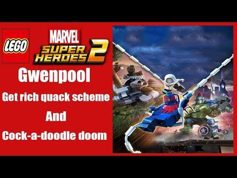 Lego marvel superheroes 2 Gwenpool how to unlock mission 4