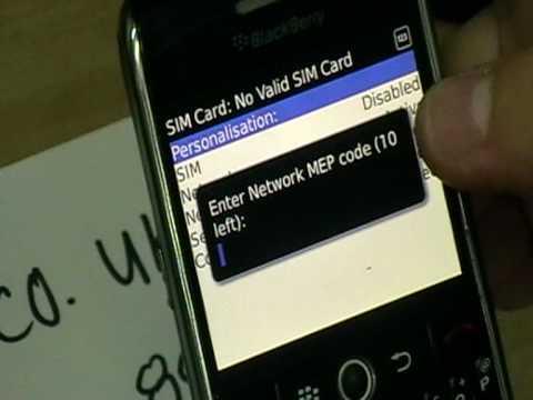 How to Unlock 8900 ,  Blackberry 8900 javelin unlock @ www.mobilecode.co.uk