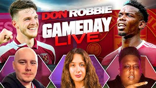 West Ham vs Manchester United   Gameday LIVE Ft Sophie Rose, Saeed \u0026 Dan Lawless