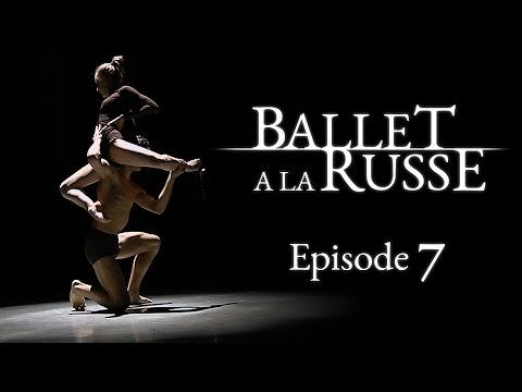 "Ballet a la Russe (E7) Taking on top talent at the ""Arabesque"" international ballet competition"