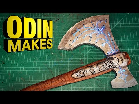 Odin Makes - Leviathan Axe from God of War 4
