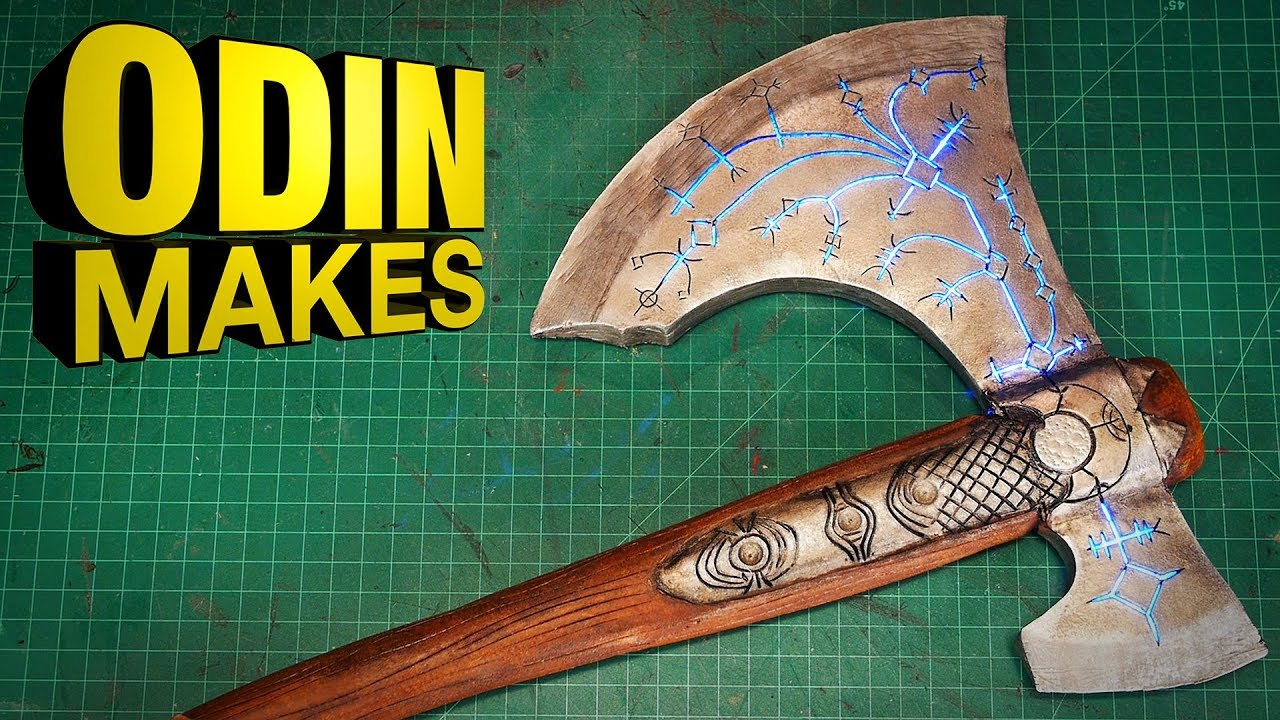 Odin Makes Leviathan Axe From God Of War 4