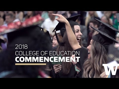 2018 College Of Education Graduation Highlights