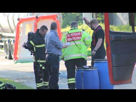 30.05.21 Kemikalieudslip fra tankvogn i Stenlille