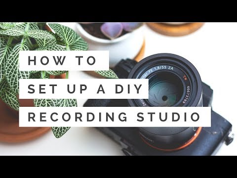 How To Create A DIY Video Recording Studio At Home On A Budget