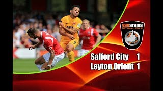 Salford City - Leyton Orient 1-1 04-08-2018 Highlights National League