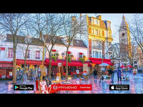 Montmartre – Itinerary – Paris – Audio Guide – MyWoWo  Travel App