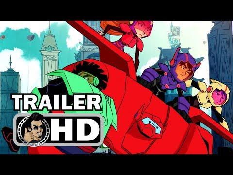 BIG HERO 6: THE SERIES Official Trailer (2017) Disney XD Marvel HD