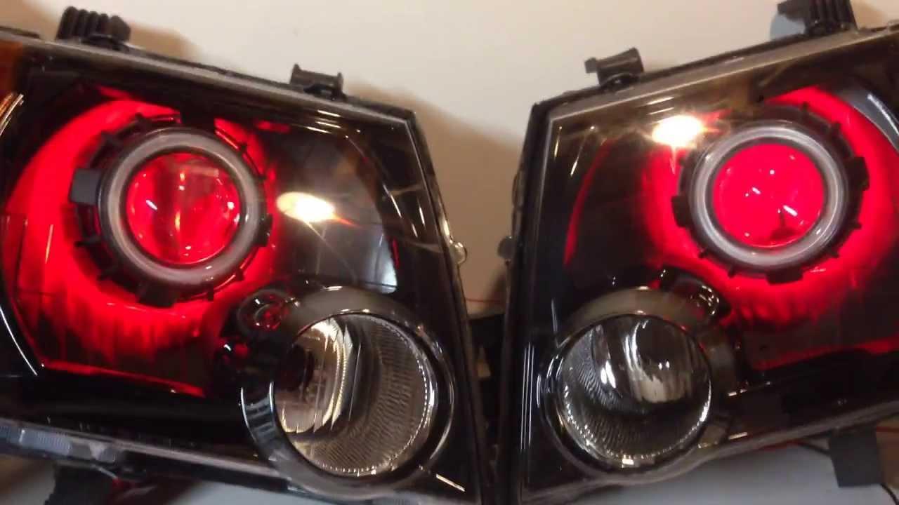 Nissan Xterra Hid Bi Xenon Projector Headlights Angel Eyes