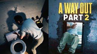 TOILET ESCAPE HOLE - A Way Out - Part 2 (Prison Break Escape Game)