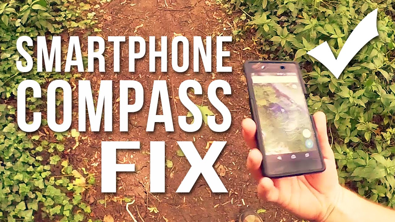 Smartphone Compass Fix! || For Google Maps on Android