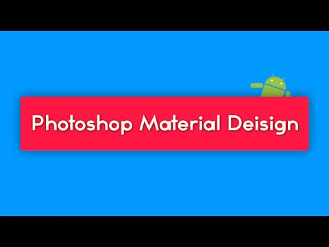 Material Design in Adobe Photoshop - Radio Buttons