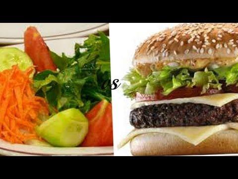 Gero comida mala vs comida buena youtube for Comida buena