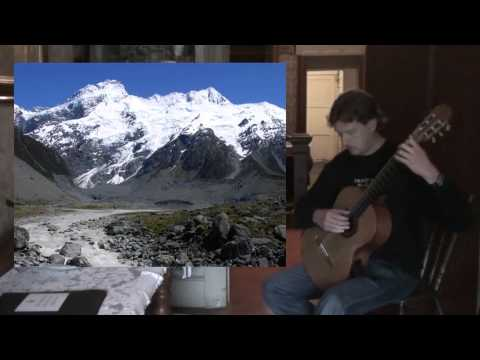 Mountain Cascade - New Zealand Suite for Guitar