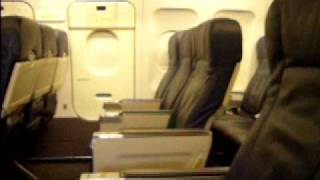 US AIRWAYS Airbus A320 Empty Cabin Phoenix Sky Harbor (PHX/KPHX)