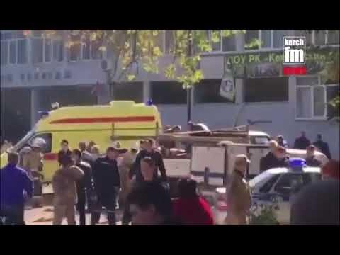 Взрыв в колледже в Крыму