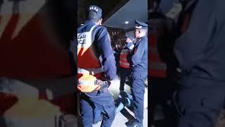 مباشرة من الدار البيضاء: تدخل أمني لإيقاف أحد الأشخاص في حالة سكر