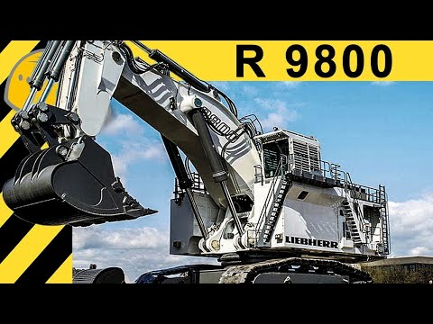 BIGGEST HYDRAULIC EXCAVATOR IN THE WORLD - LIEBHERR R 9800 | 4000HP  & 800 TON In MINING