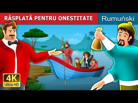 RĂSPLATĂ PENTRU ONESTITATE   Povesti pentru copii   Romanian Fairy Tales