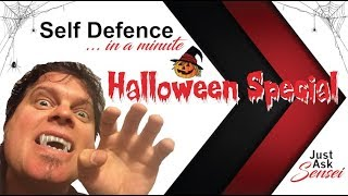 How to Stay Safe this Halloween Self Defence in a Minute Ep4 Halloween Special