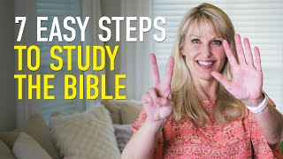 video thumbnail for 7 Bible Study Tips to Get the Most from Your Time with God!