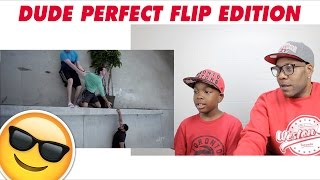 DUDE PERFECT FLIP EDITION - BMK POSSE REACTION