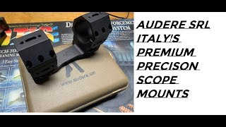 unboxing audere srl scope mount
