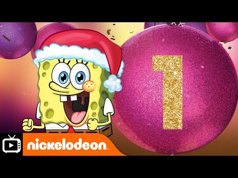 12 Days of Nickmas | Spongebob's Christmas Song | Nickelodeon UK