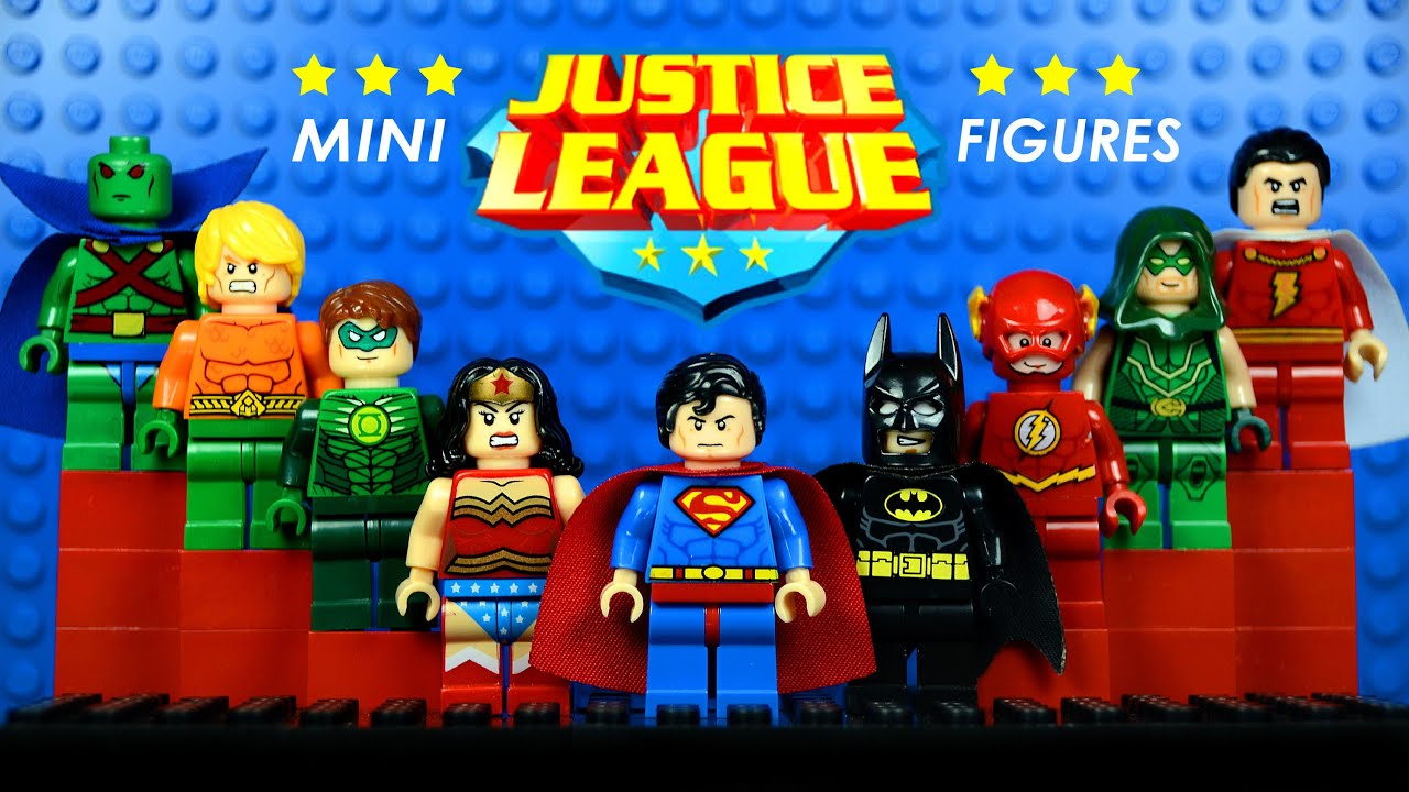 Lego Justice League Dc Superheroes Knockoff Minifigures W