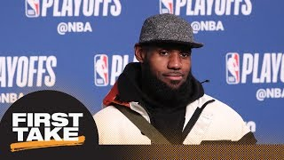 Stephen A. and Max agree: LeBron James