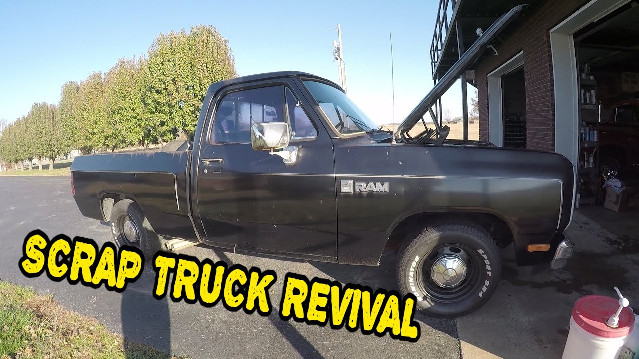Hot Rod Truck For Cheap! Scrap Truck Revival [Part 1]