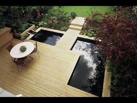 contoh kolam ikan hias minimalis untuk inspirasi - youtube