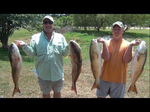 Incredible NonStop Bull RedFish Fishing Action! FULL Trip!