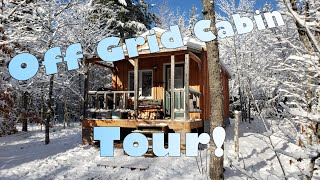 Off grid Cabin Tour! My Slice of Heaven.