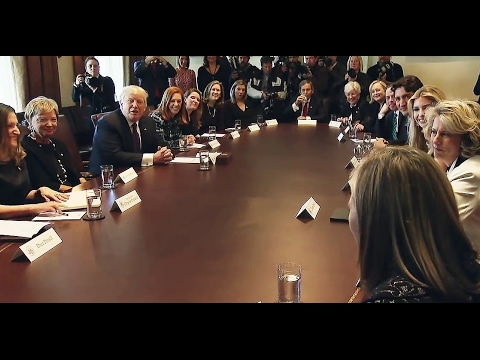 Trump: Women Business Leaders Roundtable - Ivanka and Canadian Prime Minister Trudeau, 2/13/17