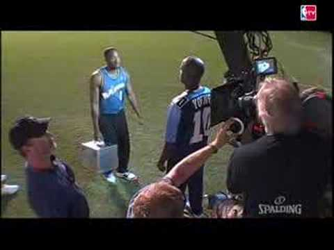 Spalding NEVER FLAT: Behind the Scenes w/ Gilbert Arenas & Vince Young