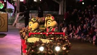 DISNEYLAND CHRISTMAS PRADE 2011